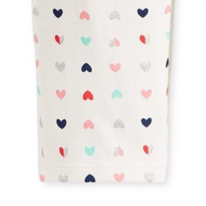 First Impressions Bottoms - NWT First Impressions Hearts Print Leggings 24mo